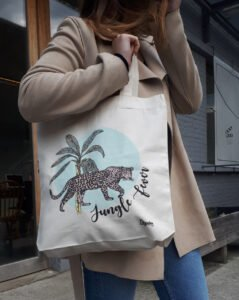 Tote bag «Panthère» Collection Jungle Fever
